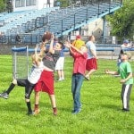 Football fundamental camp held Monday