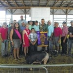 Grand Champion Hog sold Thursday