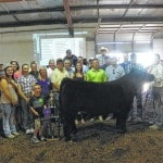 Grand Champion Steer sold Friday