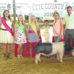 Exhibitors excel at hog show