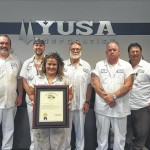YUSA recognized for safety record