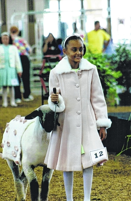 Peyton Black was the first place winner at the Ohio State Fair Guys and Gals Lead competition in class 4: Gals Age 10. Peyton is a second-year 4-H member and the daughter of Kerri Black.