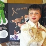 Lehr honored for cat project at State Fair