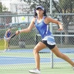 Lady Lion tennis blanks East Clinton