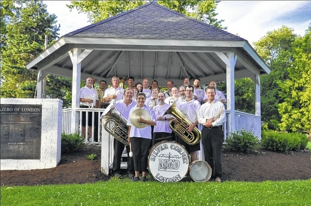 The London Silver Cornet Band will perform at Court House Manor on Sunday from 2 until 4 p.m. in a free concert for the community.
