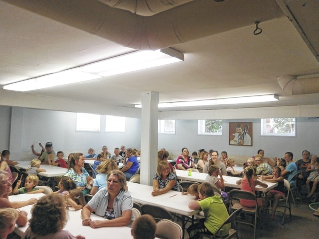 Many came out for the 2015 Jeffersonville Branch Library Summer Reading Program celebration held at Jeffersonville United Methodist Church, where participants were given awards, certificates, prizes and pizza generously donated by Don and Marty's Pizza with drinks furnished by Detty's Market.