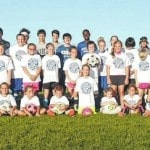 Blue Lions hold youth soccer camp