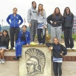 Lady Lions' Nestor, Downing advance to tennis District