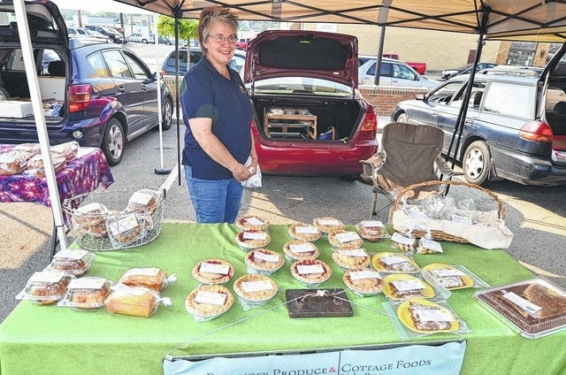 """""""The Pie Lady"""" will be at Wednesday's Fayette County Farmers Market."""