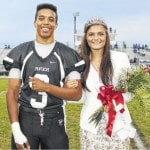 MT Homecoming Court honored at game
