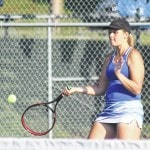 Lady Lion tennis drops pair of SCOL matches