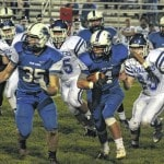 Blue Lions fall to Cavaliers, 47-9