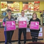 Donatos joins the FCMH Foundation for 'Pink Campaign'
