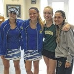 Downing, Nestor go 1-1 at tennis District
