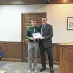 Knisley honored for accomplishments