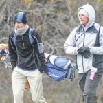 Knisley battles conditions at State golf