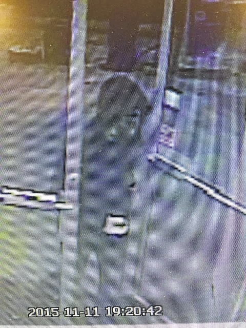 This unknown man allegedly stole money from the cash register at the Dayton Avenue Flagway gas station on Wednesday evening. The gas station's video camera caught this footage. The incident is still under investigation.
