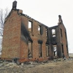 Vacant home destroyed by fire