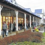 Shoppers swarm local businesses