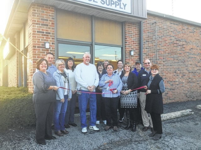 Chamber of Commerce board members and ambassadors recently welcomed Watson's Office Supply to the chamber by holding a formal ribbon cutting.
