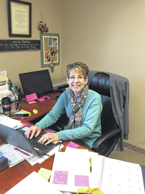 Lynda Wilt was recently promoted to the new executive director at Hospice of Fayette County.
