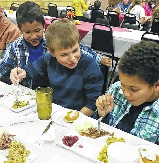 The Well at Sunnyside held its Thanksgiving Dinner on Tuesday evening and served over 150 meals to residents. The Well has several events planned for December including two meals.
