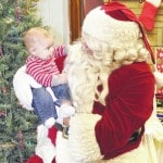 Santa Claus visits Bloomingburg