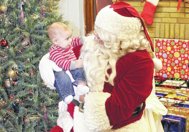 The village of Bloomingburg held an annual visit from Santa Claus during the 2015 Christmas Party at the town hall Tuesday evening to help get the community in the Christmas spirit.