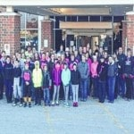 Miami Trace FFA 'Paints the Town Pink'