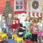 Jeff Library hosts Santa Claus visit for children