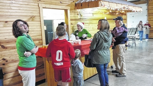 On Saturday, Relay for Life of Fayette County hosted a Breakfast with Santa at the Pine Lodge at 1376 Flakes Ford Road near Washington Court House. The breakfast included pancakes and juice/milk.