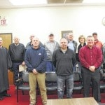 Local officials sworn in Thursday