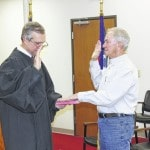 Local officials sworn into office