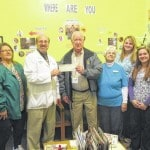 Chiropractic Health & Wellness presents donation to veterans' resource center