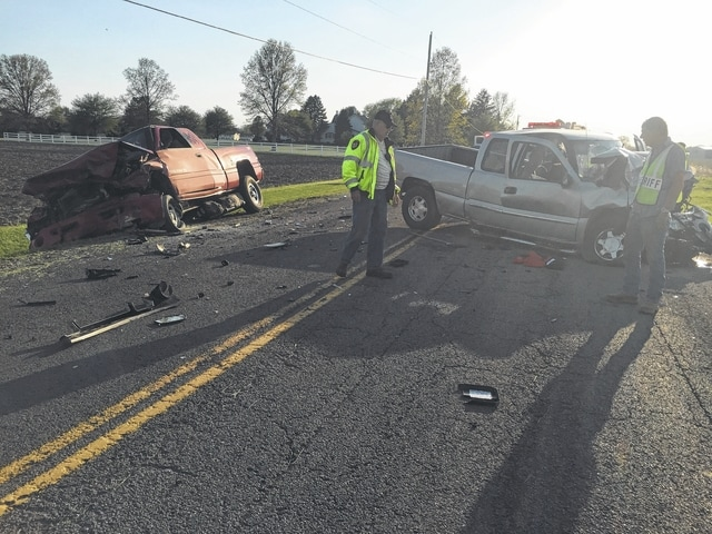 Two Washington C.H. residents were seriously injured during a May 3, 2015 three-vehicle accident on U.S. 22 East just west of State Route 753 in Fayette County. Scott Leisure has been indicted for his alleged role in the accident.