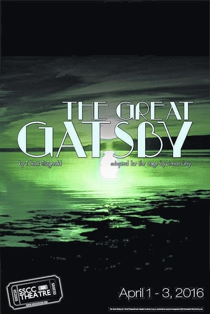 """SSCC Theatre is holding auditions for the spring production of """"The Great Gatsby."""""""