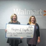 Hospice receives grant from Walmart