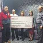 FCMH Foundation receives check from Tanger Outlets