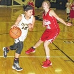 Lady Panthers top Astros, 53-29