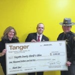 Tanger donates to first responders