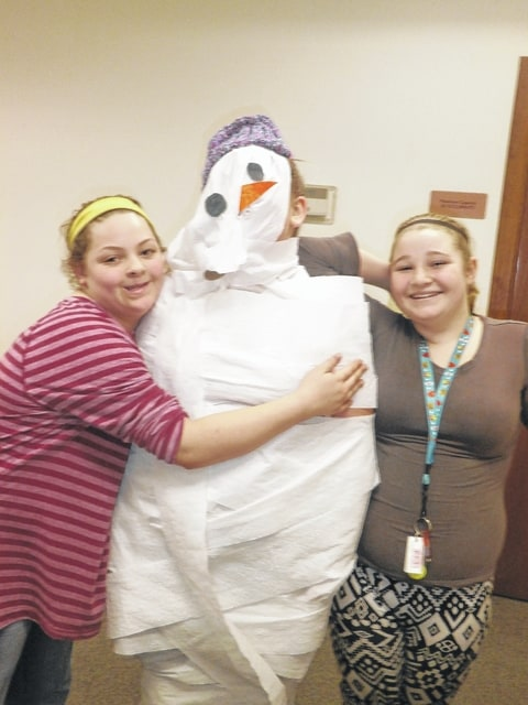 Jeffersonville Branch Library was a place of fun and excitement during the Snowman Games held recently. Snowball Squishers, Build a Snowman, Snowman Remember and Snowball Soccer were among the games played.