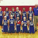 Lady Lion 7th grade wins postseason title
