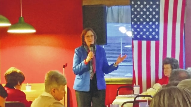 Former Ohio Secretary of State Jennifer Brunner was the keynote speaker at the Fayette County Democrats' annual Presidents Day Dinner on Sunday. Over 90 people were in attendance at Our Place Restaurant in Washington C.H. Brunner is currently the judge for Ohio's 10th District Court of Appeals.