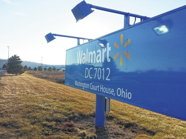 The Walmart Distribution Center facility