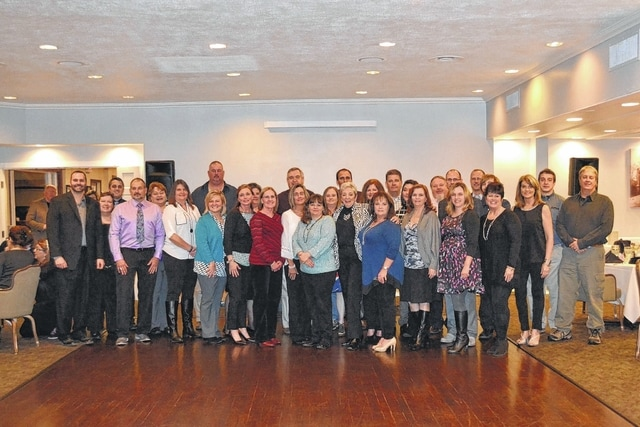 The staff of ERA Martin and Associates in Washington C.H. recently received their Office of the Year award.