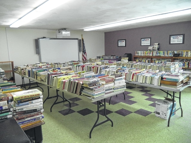 The Carnegie Public Library will hold its Cabin Fever Book Sale in the Library Meeting Room on Thursday from 12 to 6 p.m., Friday from 10 a.m. to 6 p.m. and Saturday from 10 a.m. to 2 p.m.