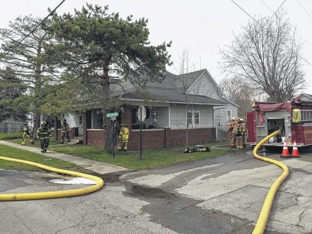 Firefighters were able to contain a fire at 120 Midland Ave. in Bloomingburg mostly to the home's basement on Wednesday afternoon. Officials received the call about the fire that began in the basement at approximately 2:18 p.m. and it was contained by around 3:30 p.m. The home owner is Robert Johnson. No one was injured in the fire, according to Ron Huff, the BPM Joint Fire District Chief. The cause of the fire was electrical. As well as BPM, other responders were Washington C.H. Fire, Jeffersonville Fire, Pic-A-Fay Fire, Range Township Fire, Fayette County EMS, the Fayette County Sheriff's Office, and the Red Cross.