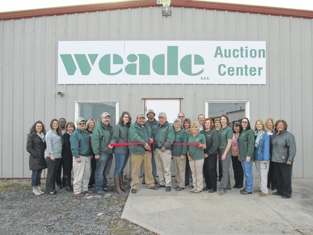 Weade Realtors recently opened a new auction center at 2009 Columbus Ave. in Washington Court House.
