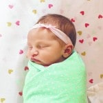 Robinson family proudly welcomes baby girl