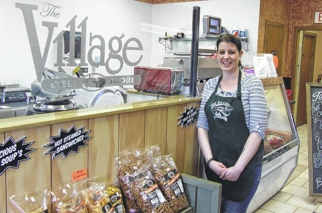 Brittany McKinney owns and operates The Village Deli and More, located in Sabina.
